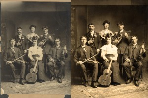 Family Band Retouch