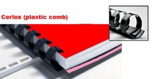 Cerlox (Plastic Comb)